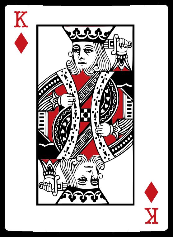 cartão de pôquer de diamante png