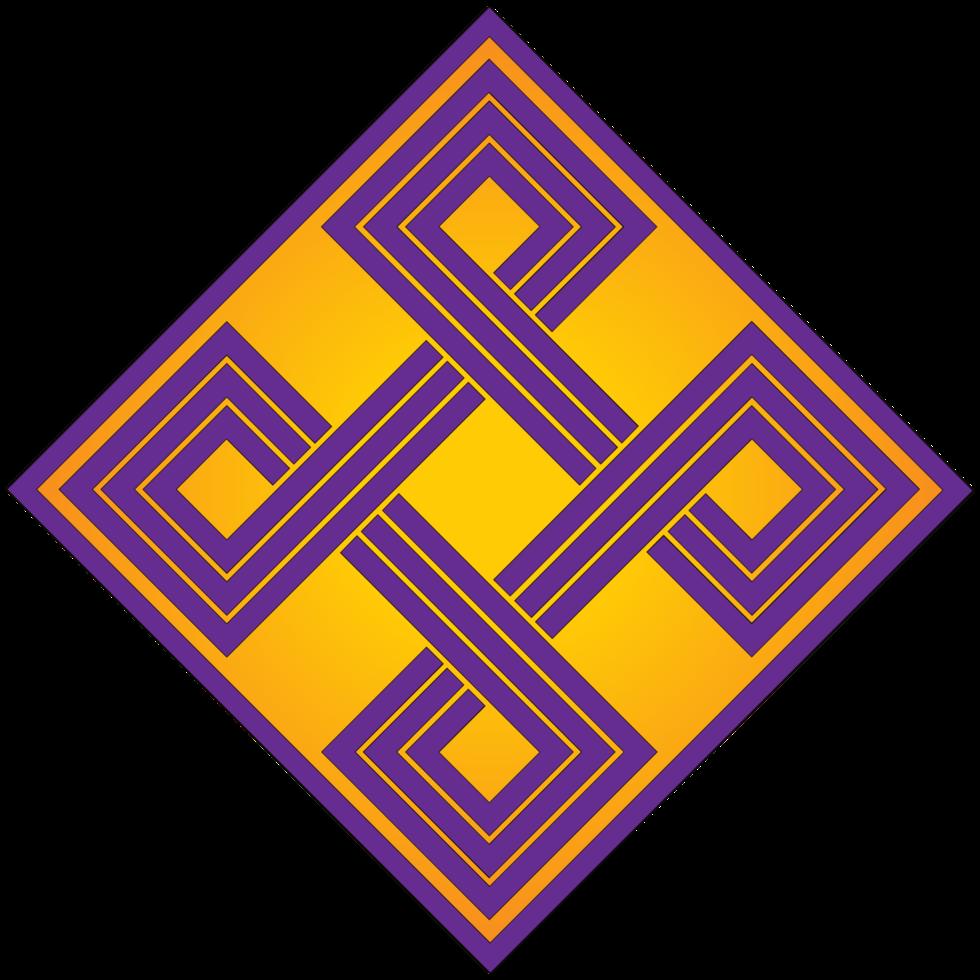 diamante abstrato geométrico png