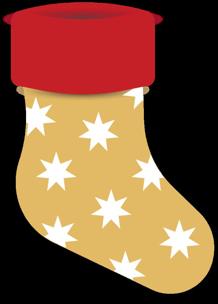 décoration de bas de Noël png