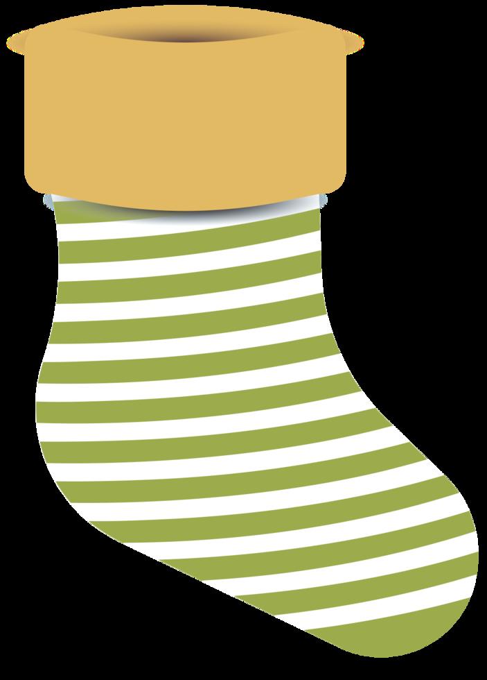 decoración de medias de navidad png