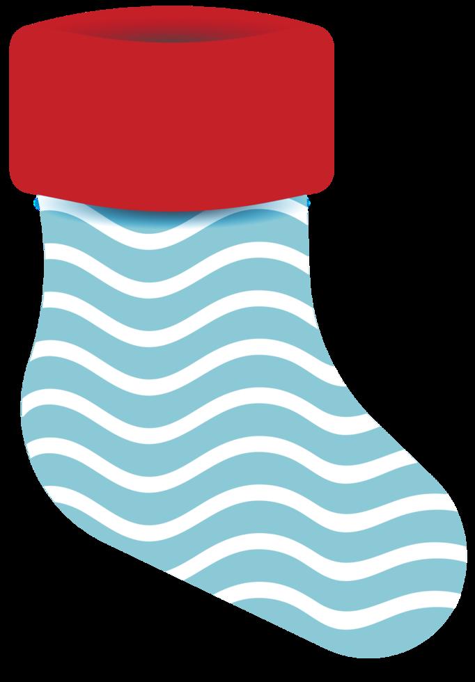 meia de natal decoração png