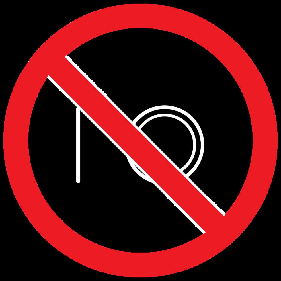 verboden teken geen camera png