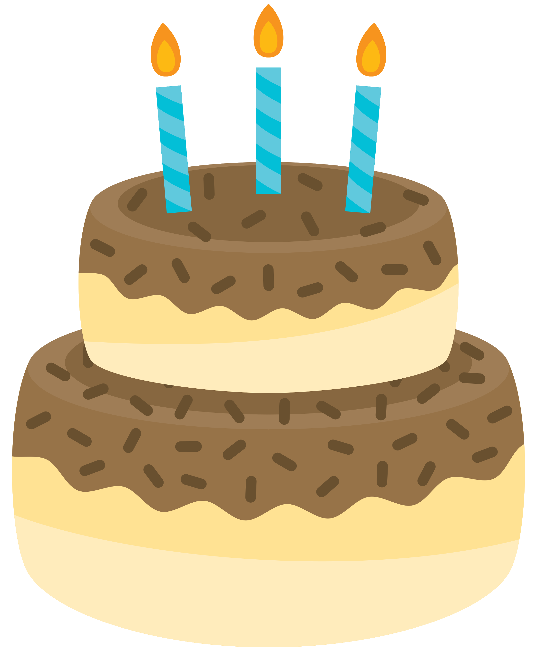 Free Birthday Cake 1201707 PNG with Transparent Background