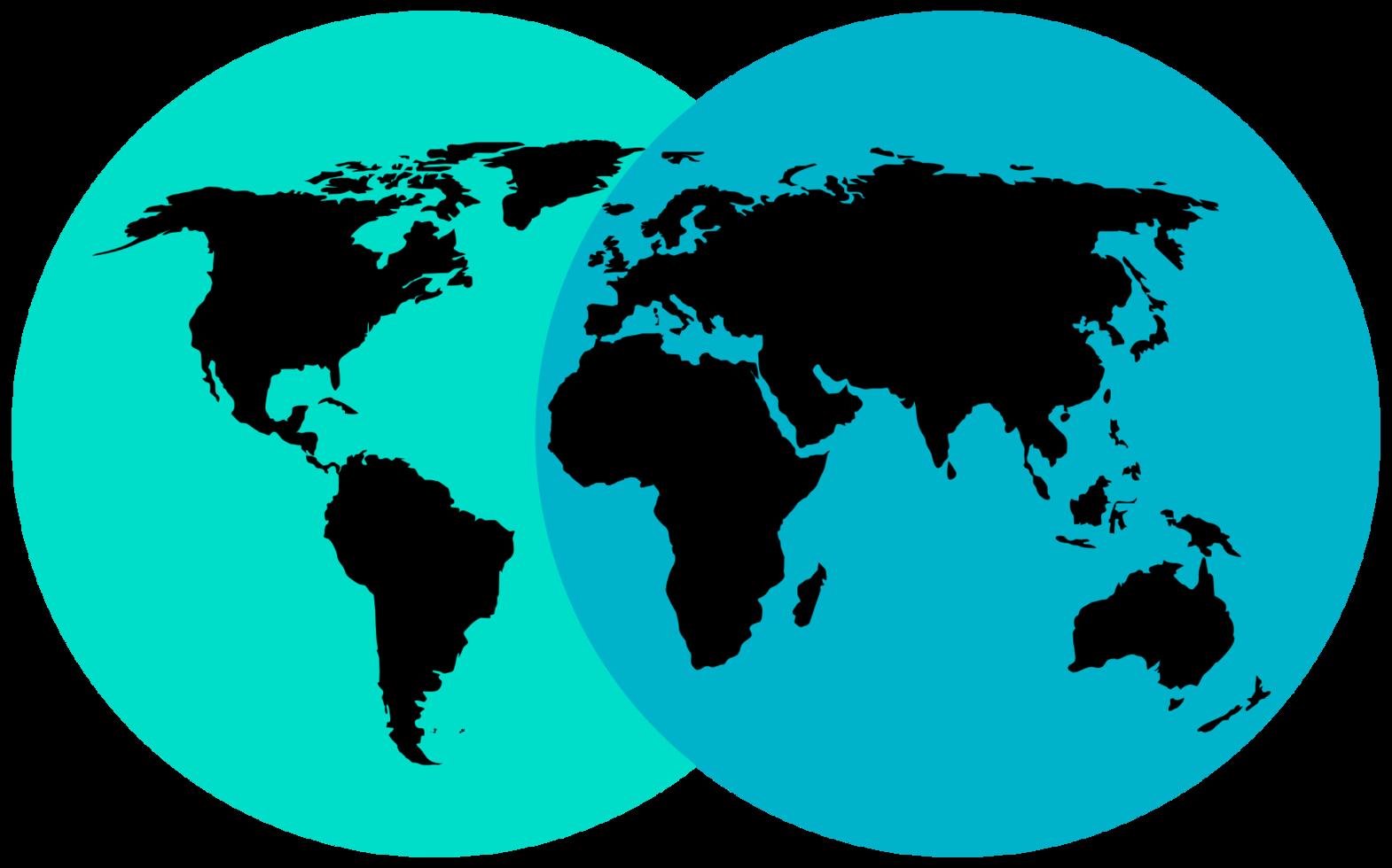 carte du monde png