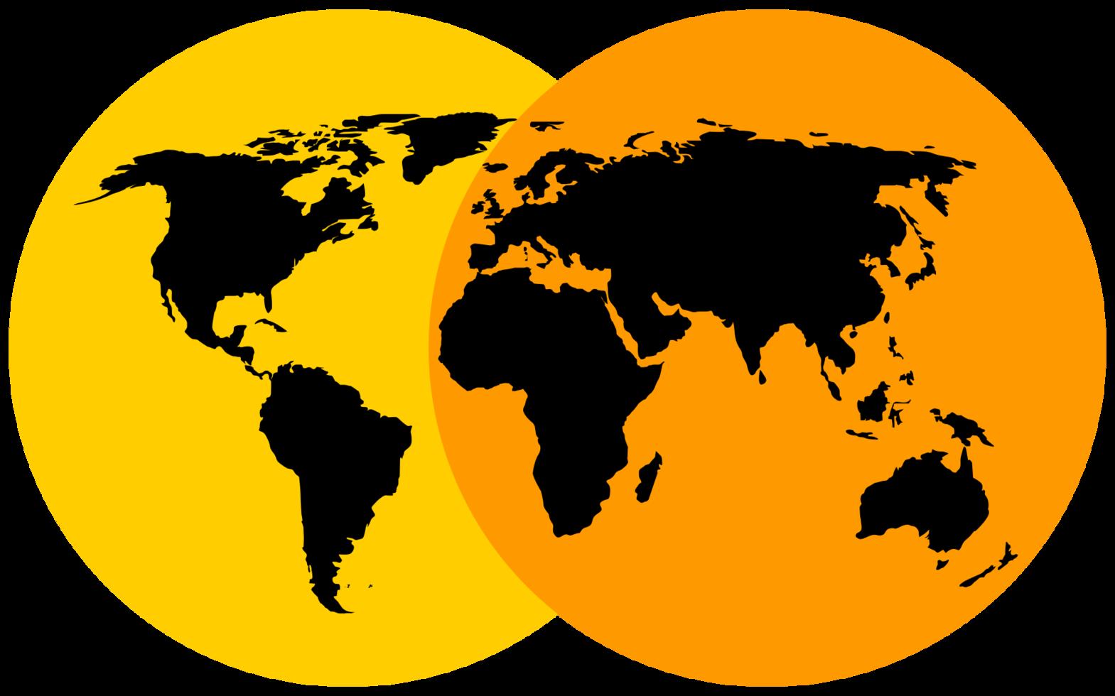 mapa mundial png