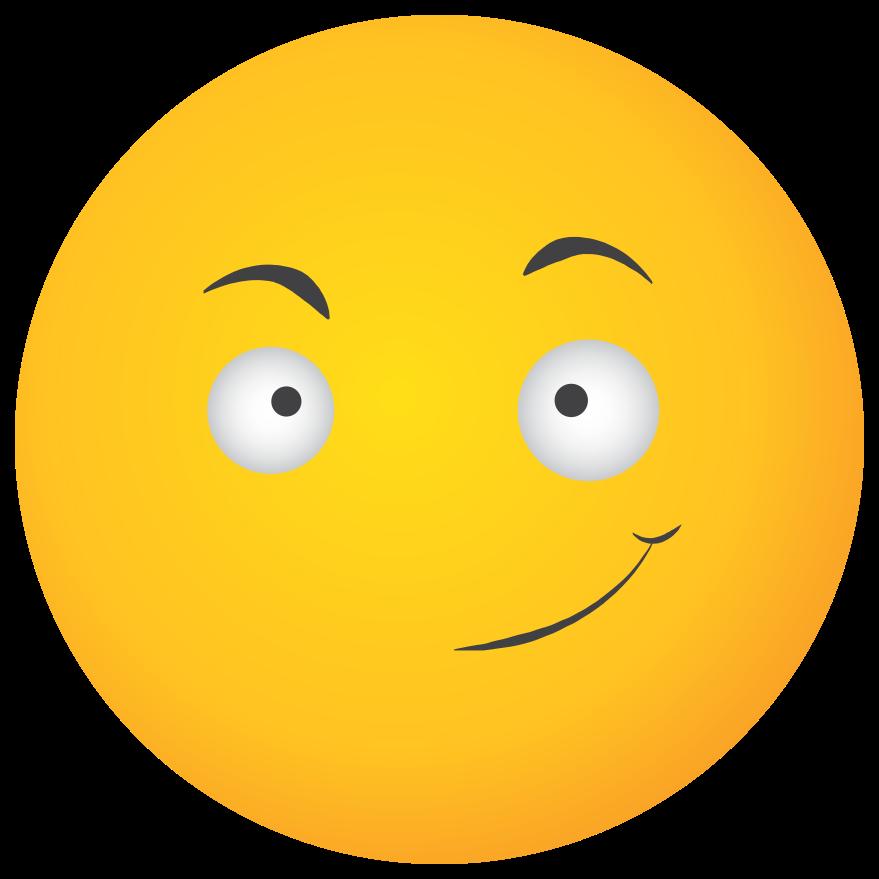 emoji cara amarilla sonrisa ganar png