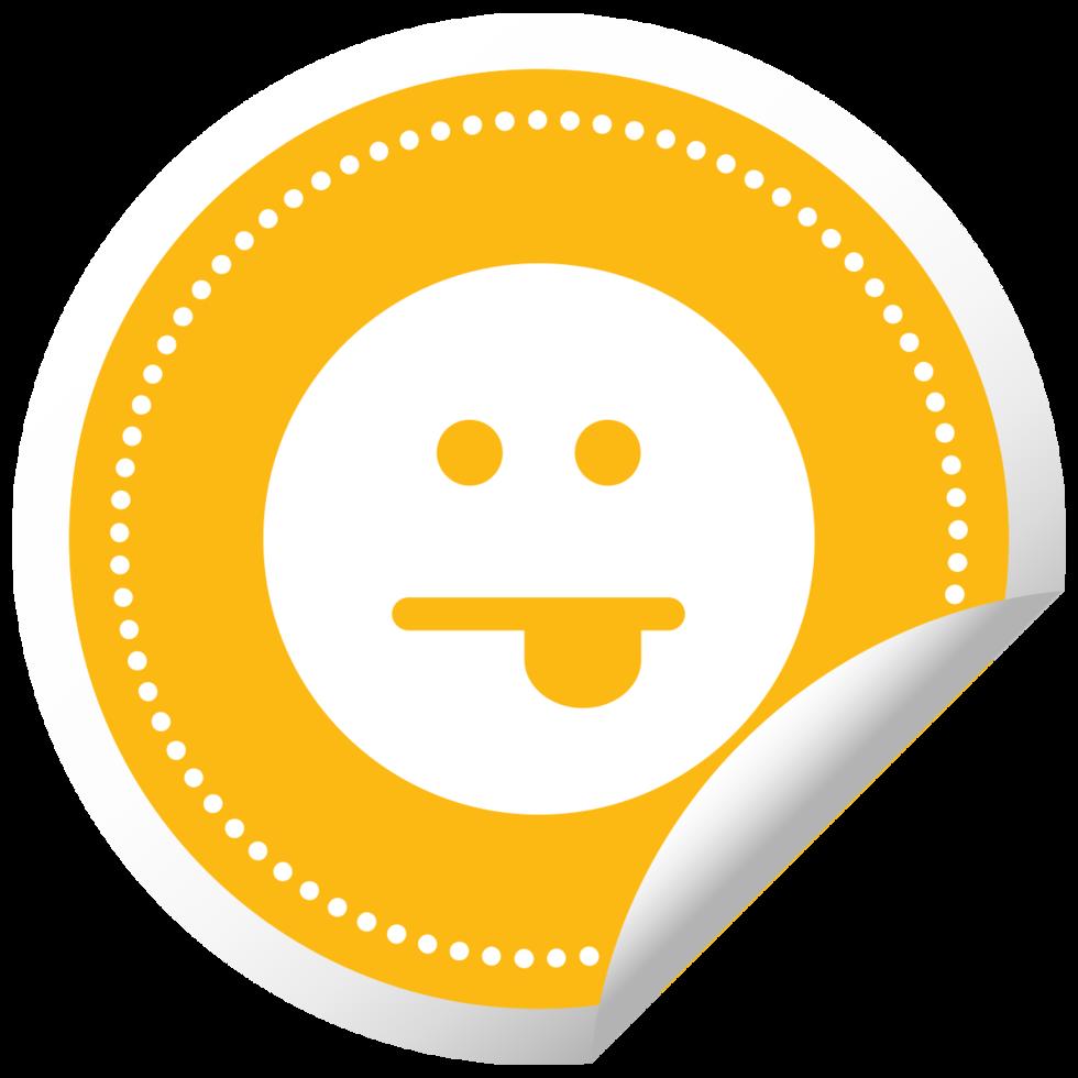 Emoji emoticon sticker tounge png