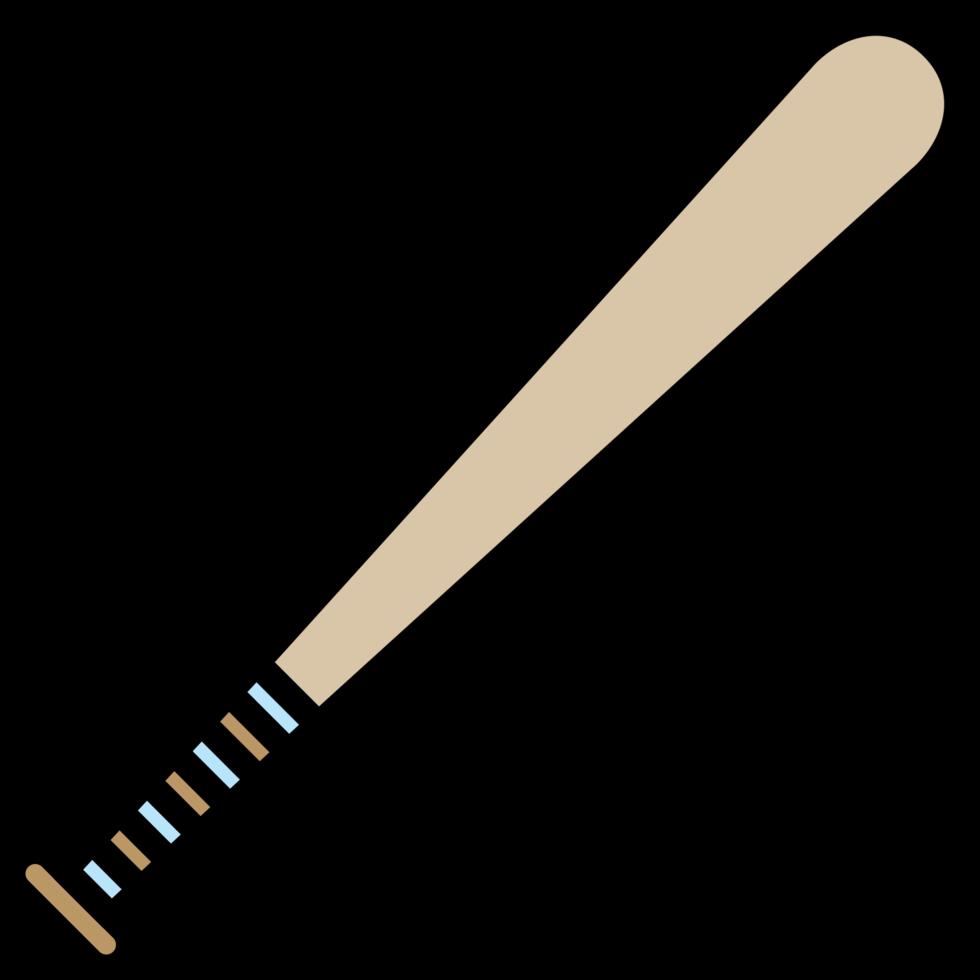 bate de béisbol png
