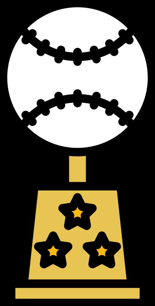 trofeo di baseball png