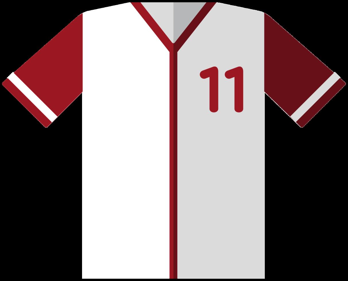 maglia da baseball png
