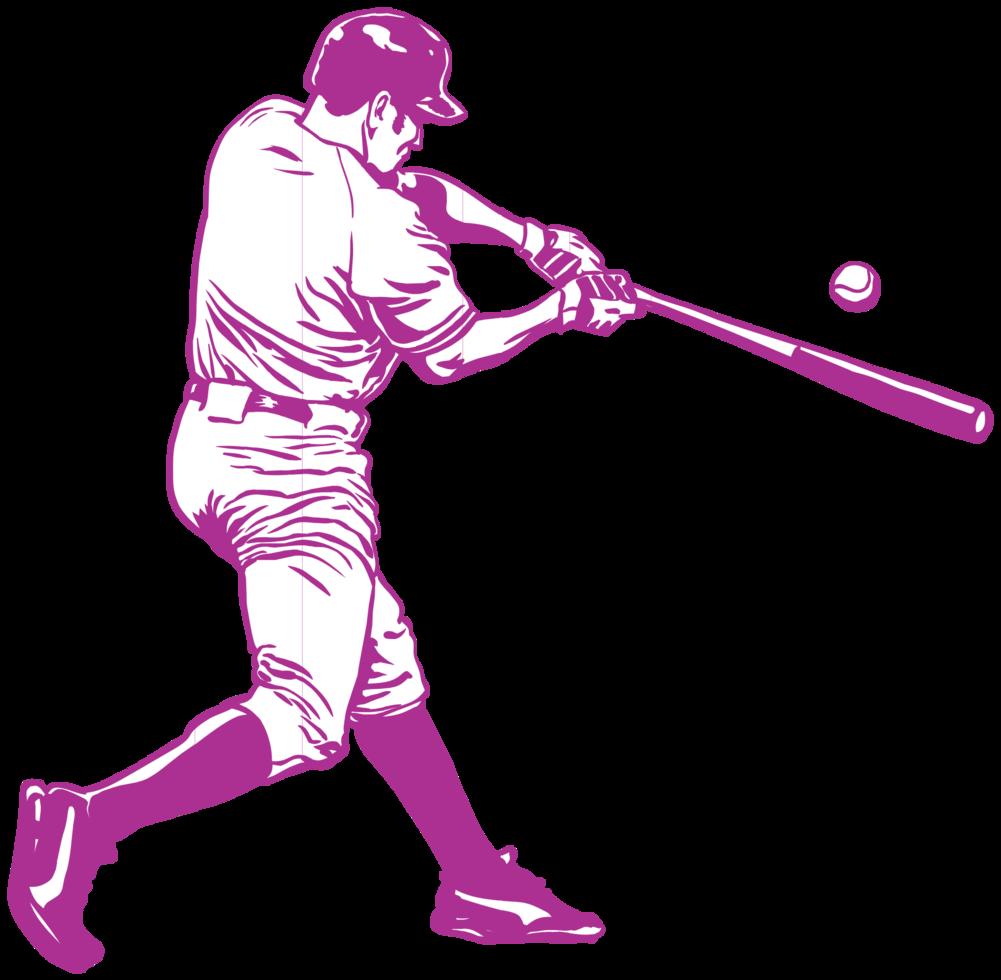 jugador de baseball png