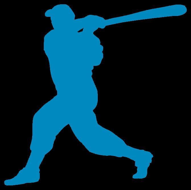 joueur de baseball png