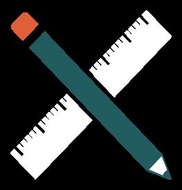 potlood en liniaal png