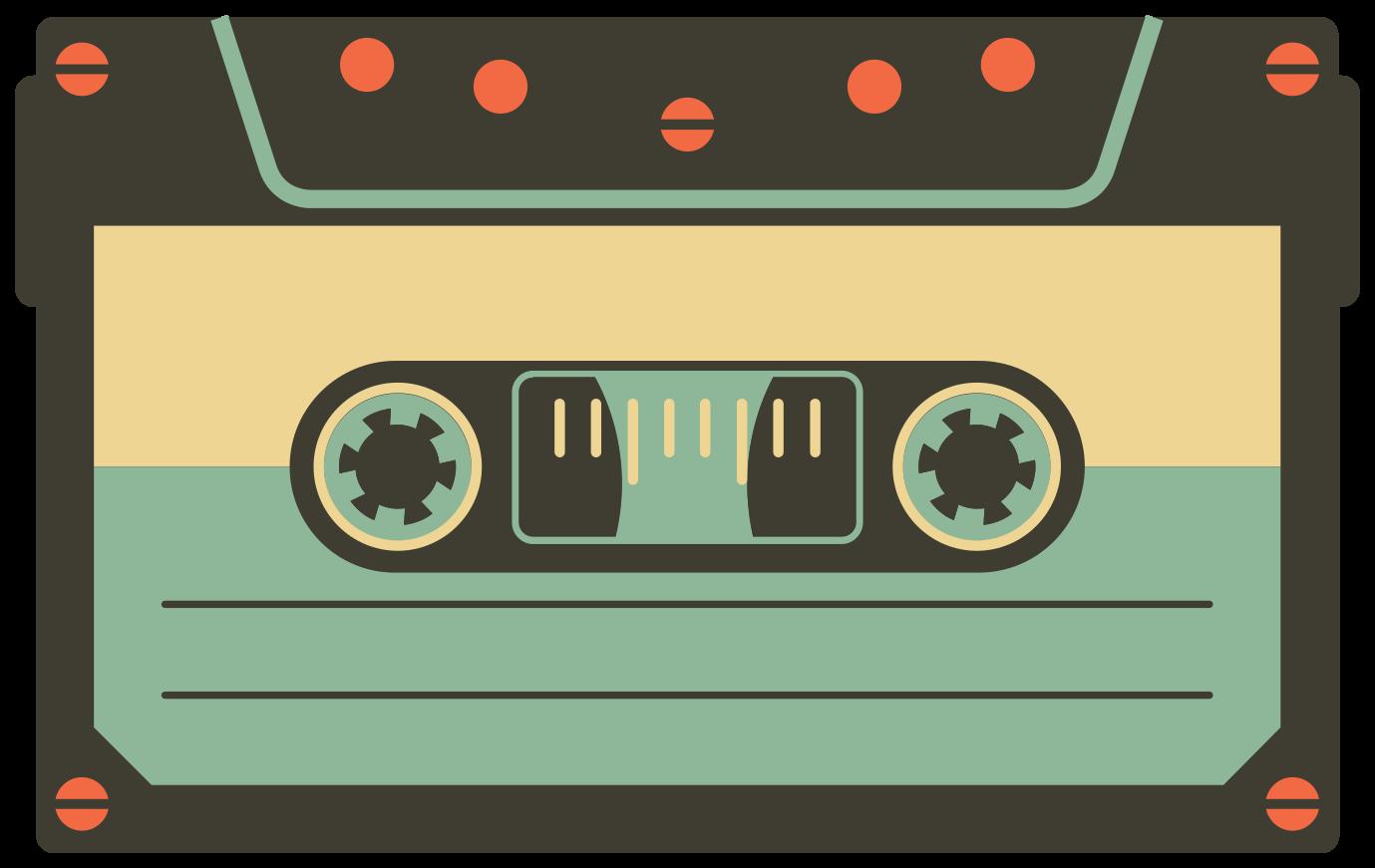 Vintage Kassette png