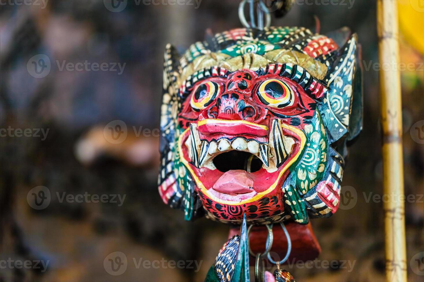 Demon mask photo