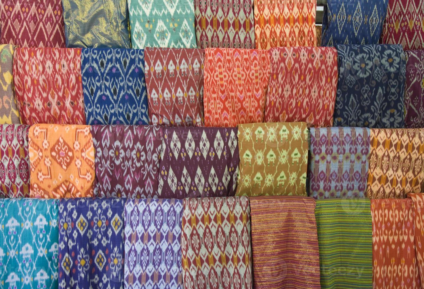 lombok textiel foto