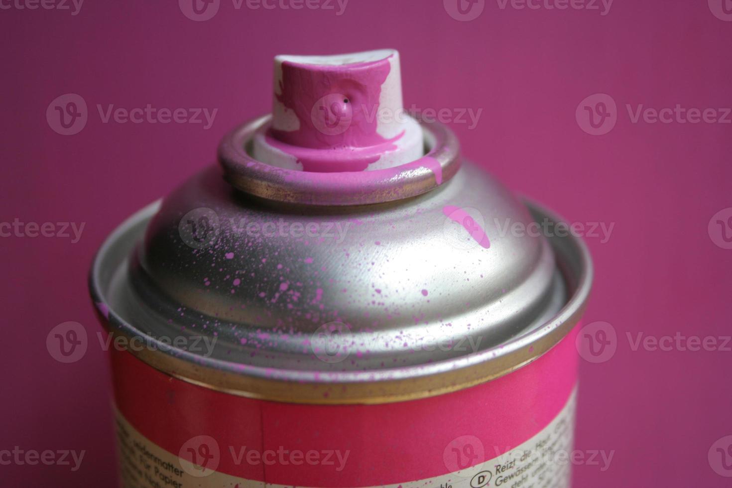 pink spray photo