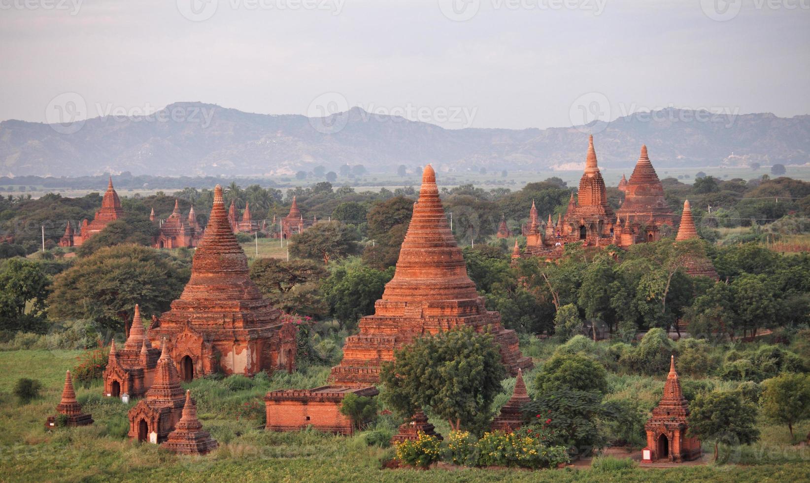 Temples in Bagan photo