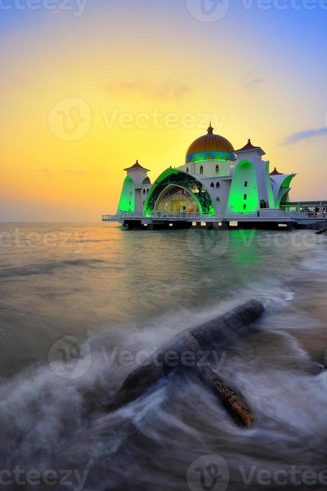 Straat moskee foto