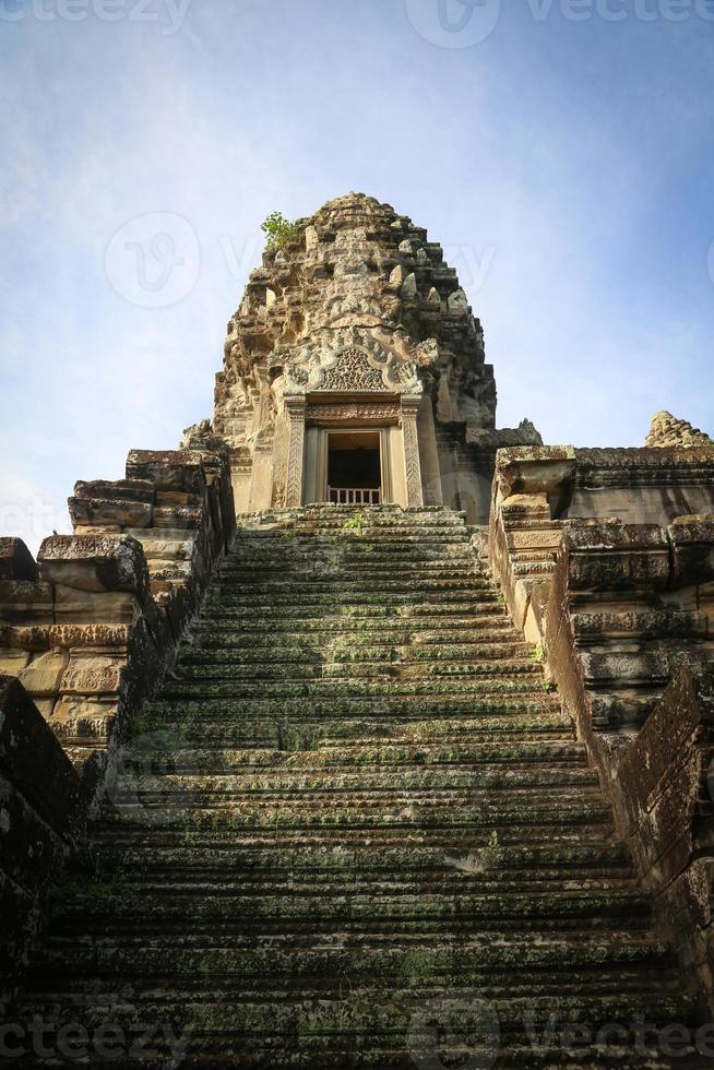 Templo antiguo en Angkor Wat, Camboya foto