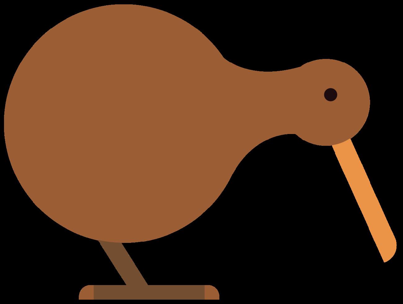 Kiwi vogel png