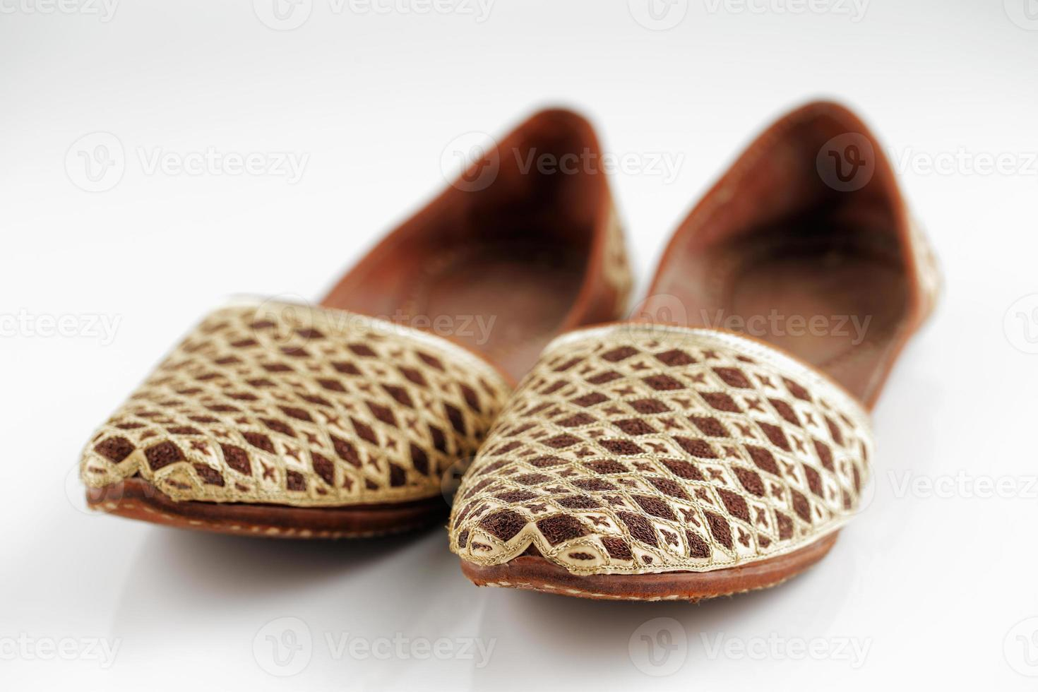 Traditional Arabic slippers photo