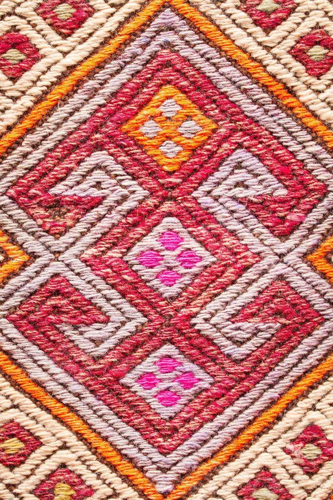 Colorful rug photo
