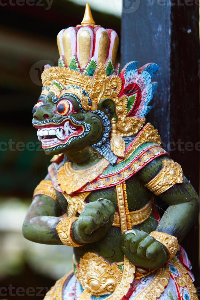 Balinese God statue photo