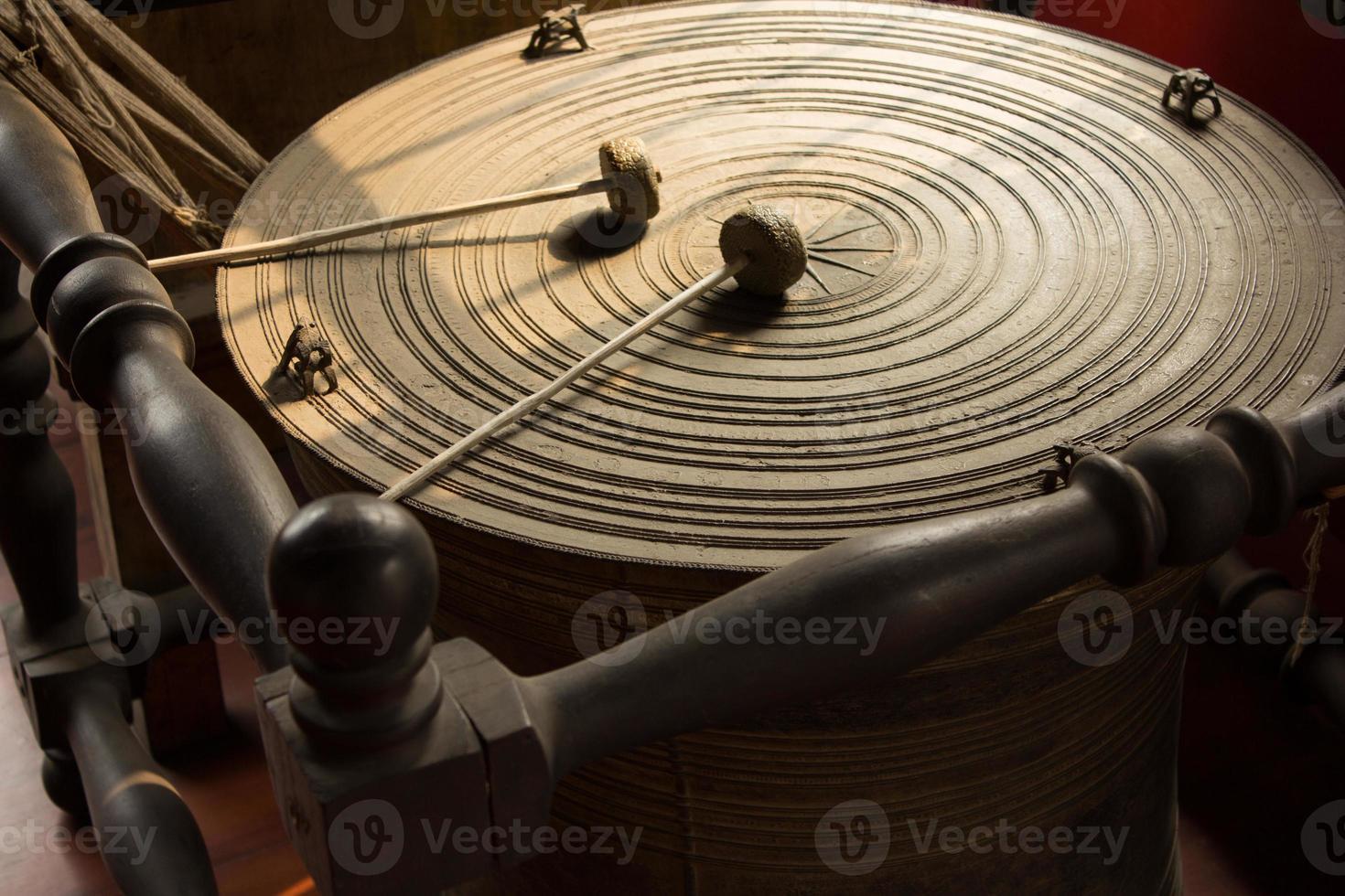 tambor tradicional tailandés foto