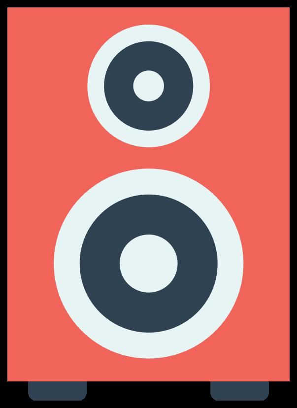 alto-falante de música png