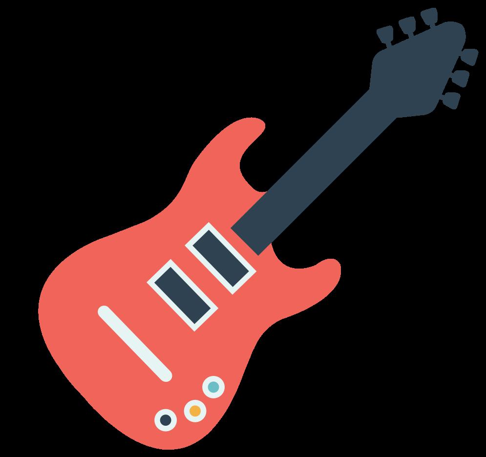 Music electric guitar png