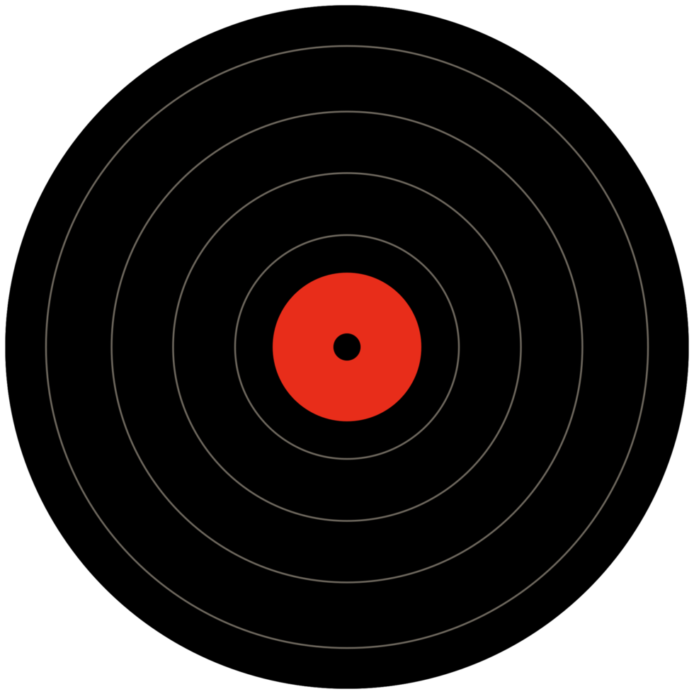 Musik-Schallplatte png