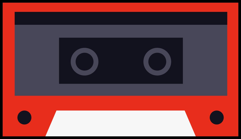 Musikkassette png