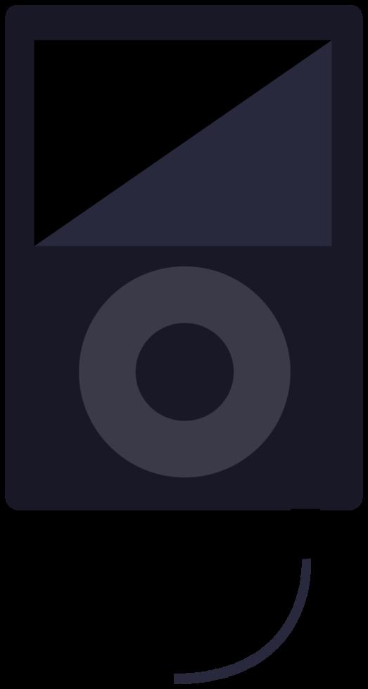 pod de música png