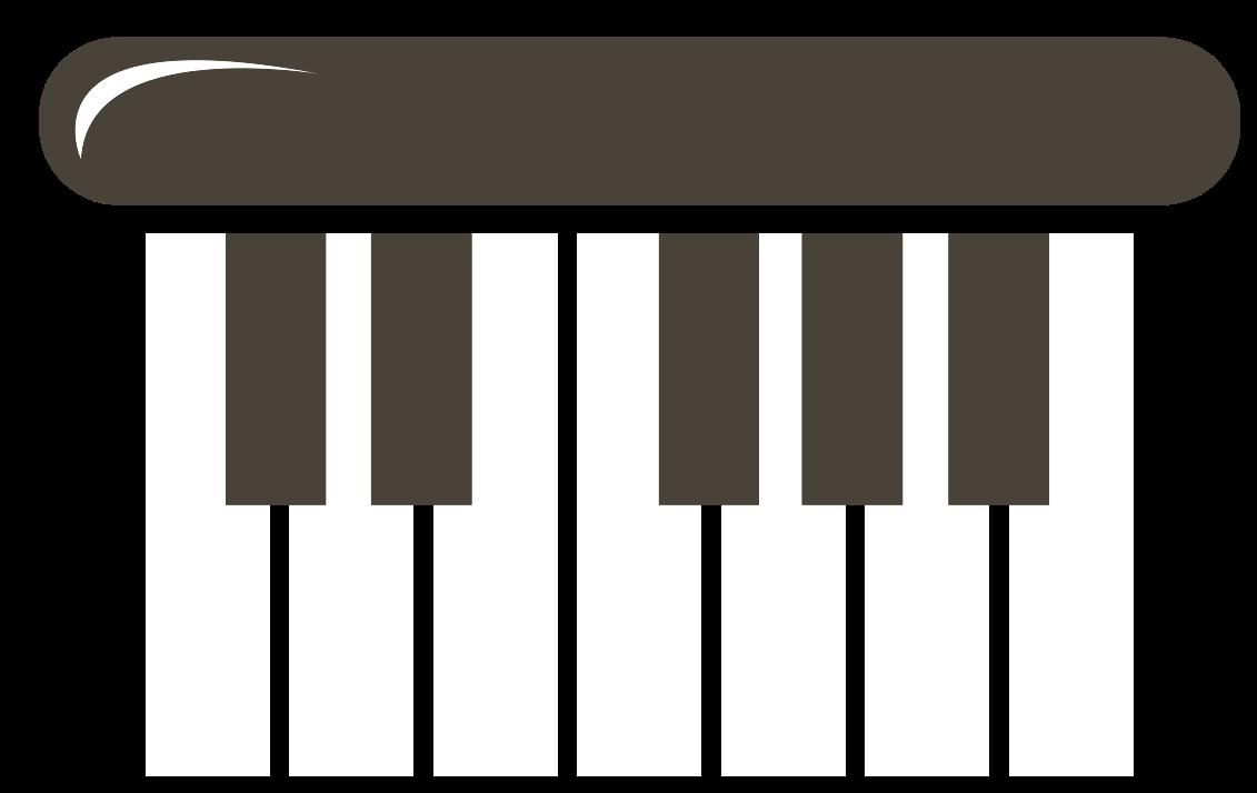 piano de ícone de música fofa png