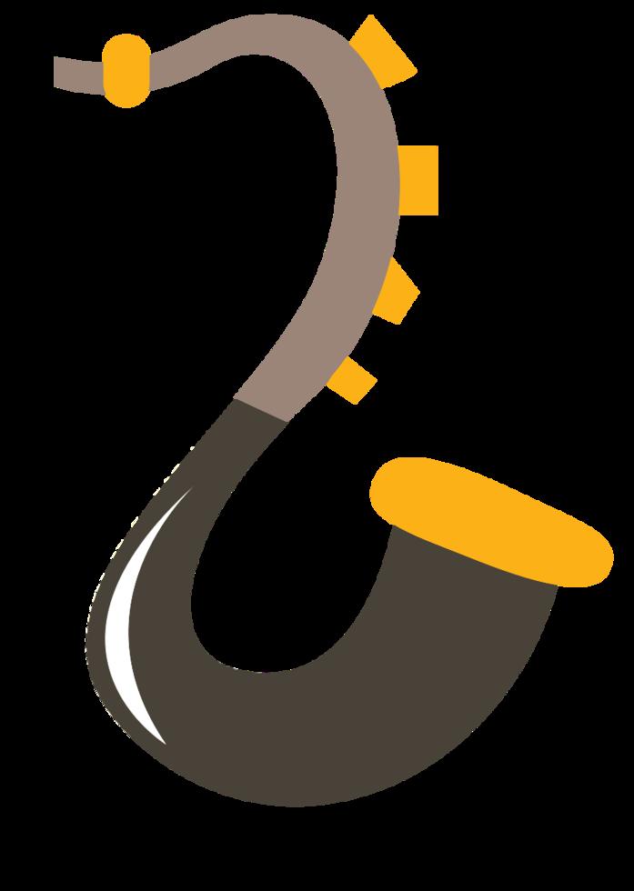 saxophone icône musique mignon png