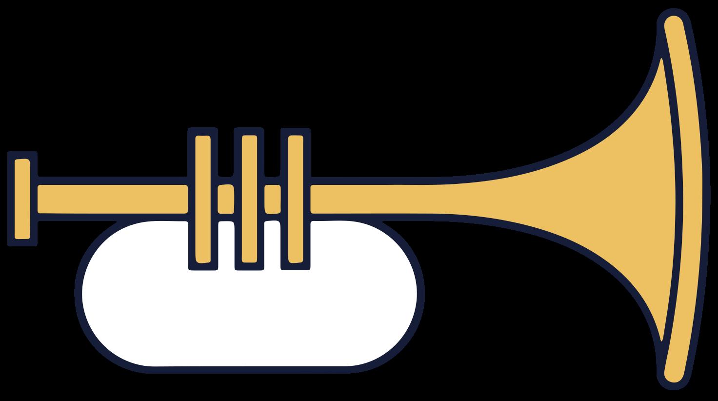 muziekinstrumenten trompet png