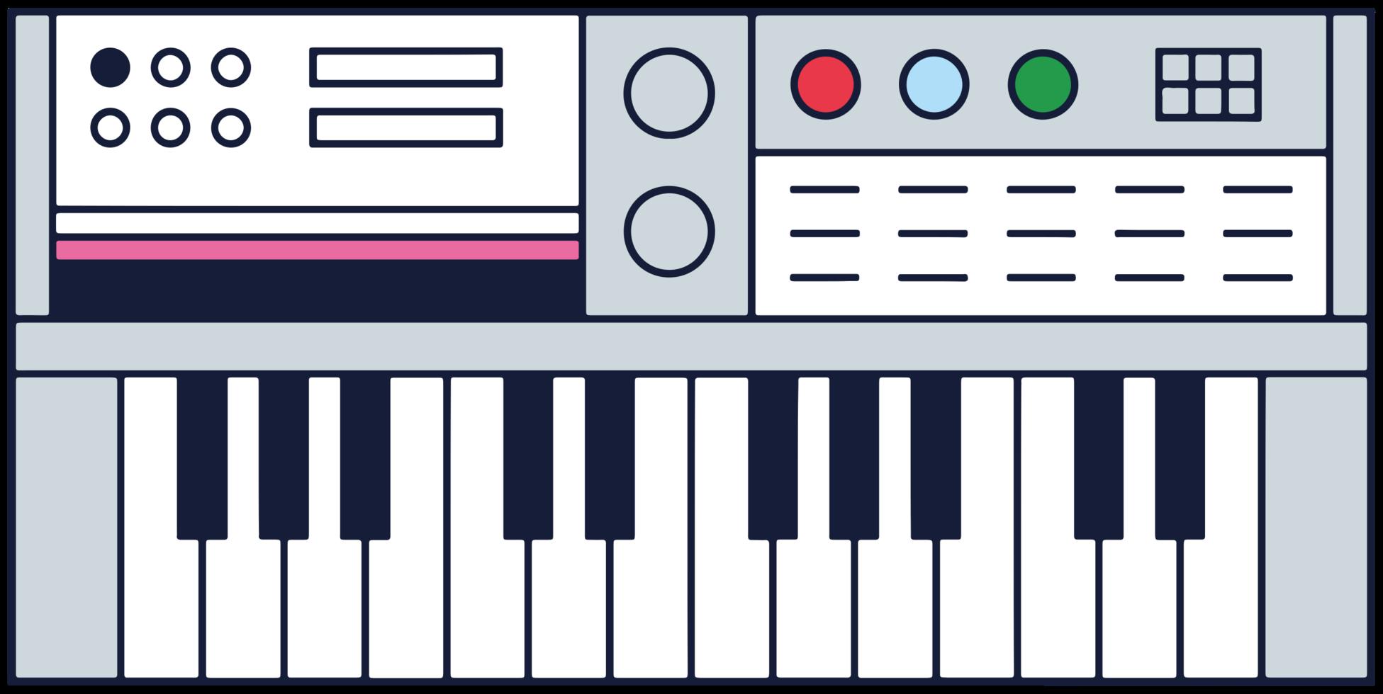 muziekinstrumenten keyboard piano png