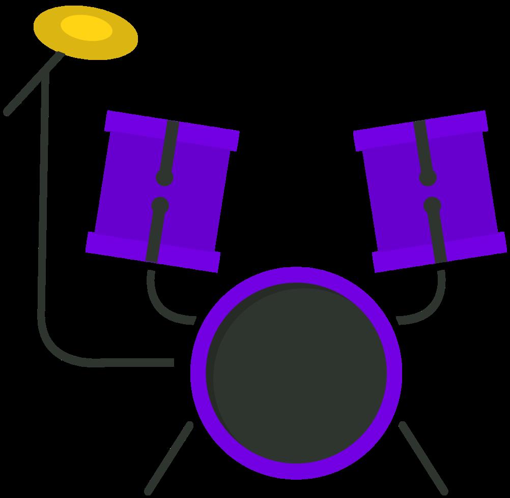 tamburo strumento musicale png