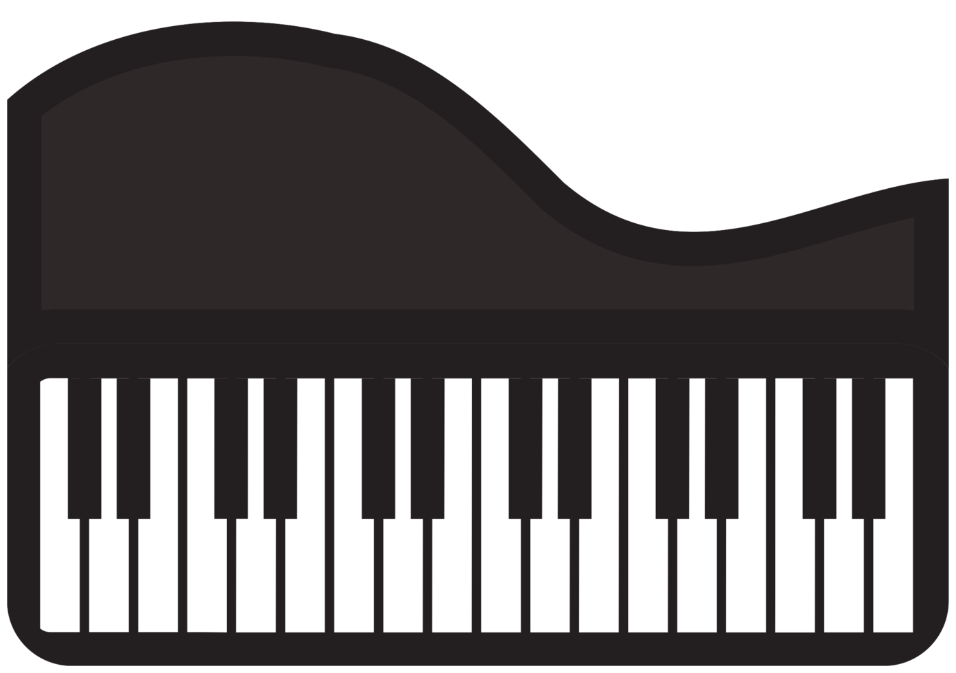 instrument de musique piano à queue png