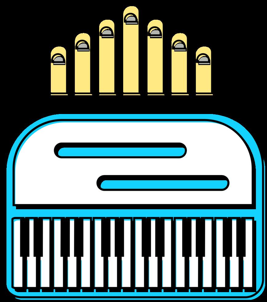 muziekinstrument piano png