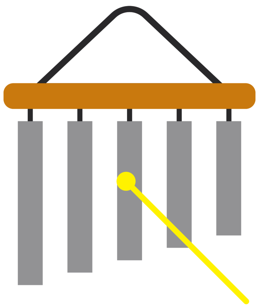 muziekinstrument xylofoon png