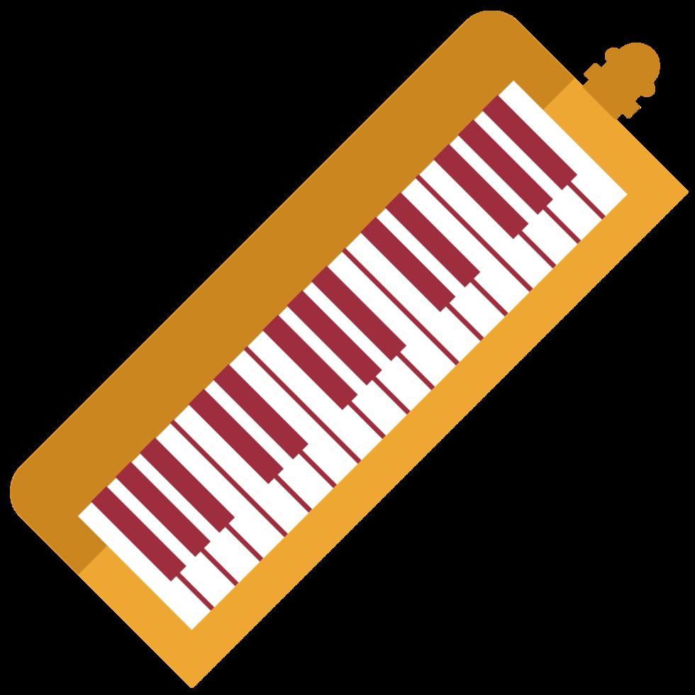 muziekinstrument melodica png