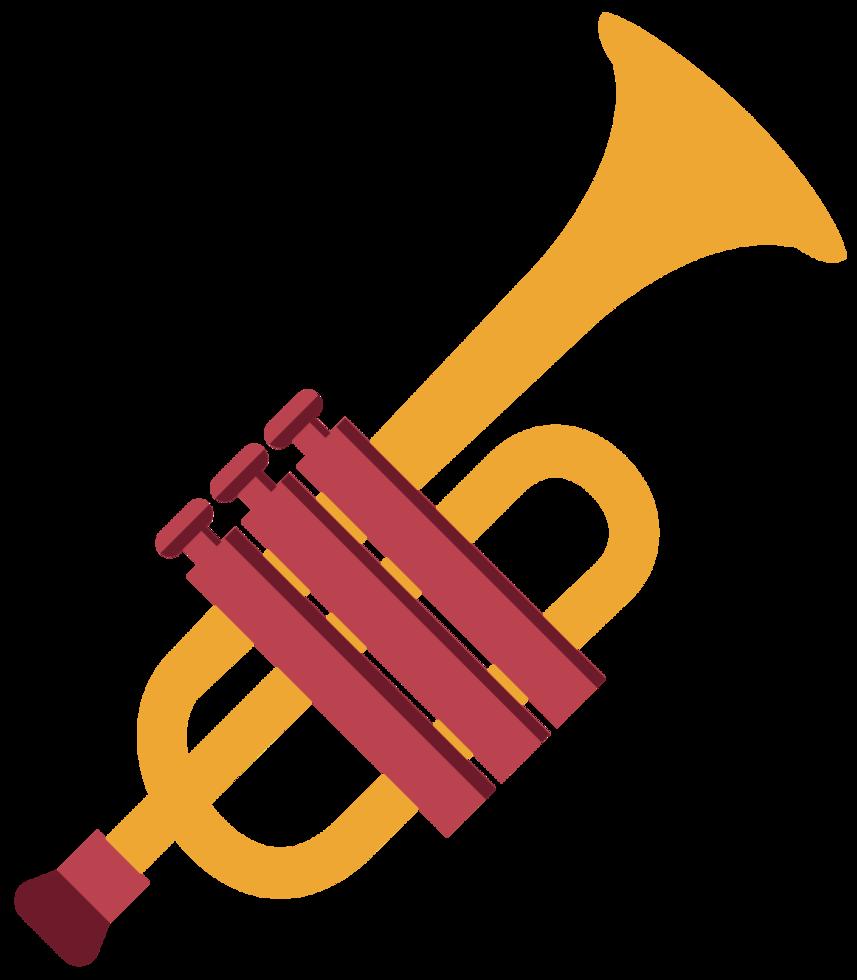 musikinstrument trumfet png