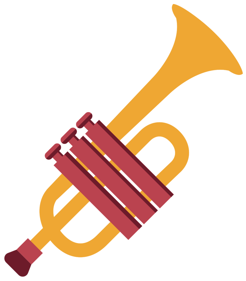 trumphet di strumenti musicali png