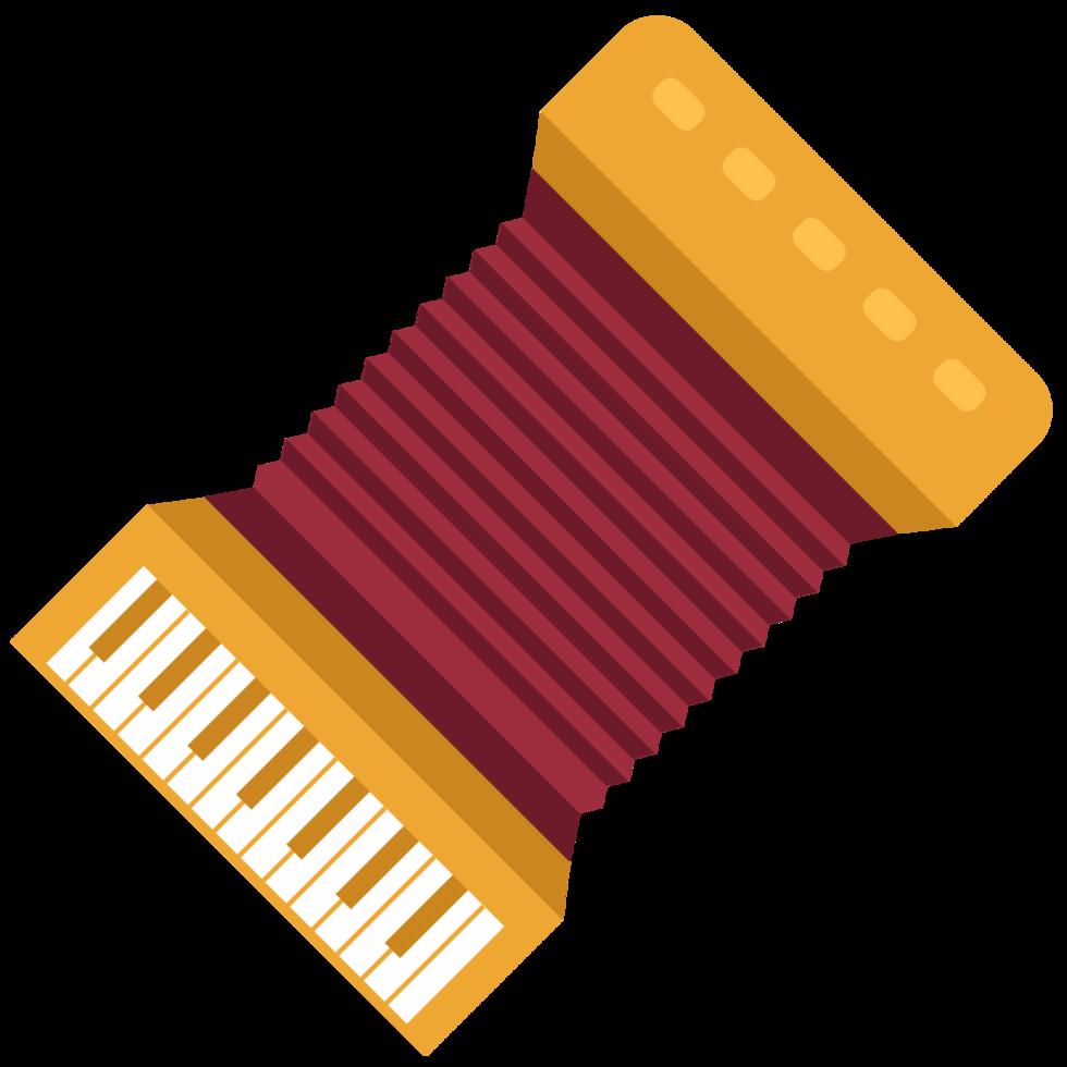 Musikinstrument Akkordeon png