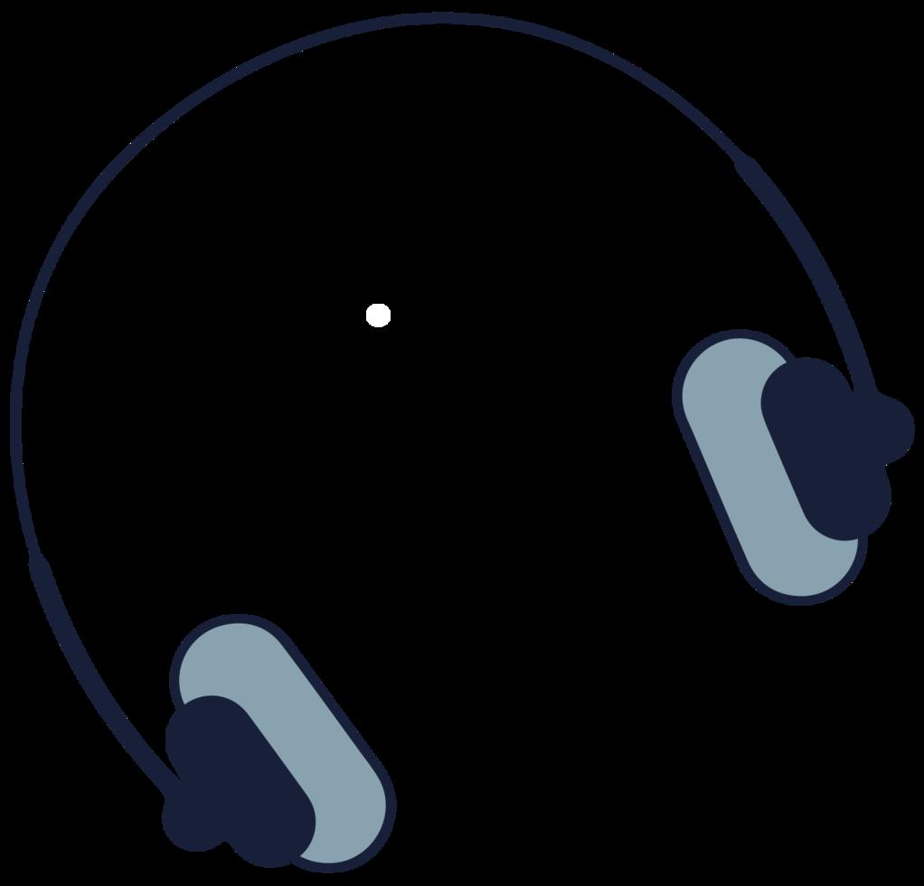 hoofdtelefoon voor muziekapparatuur png