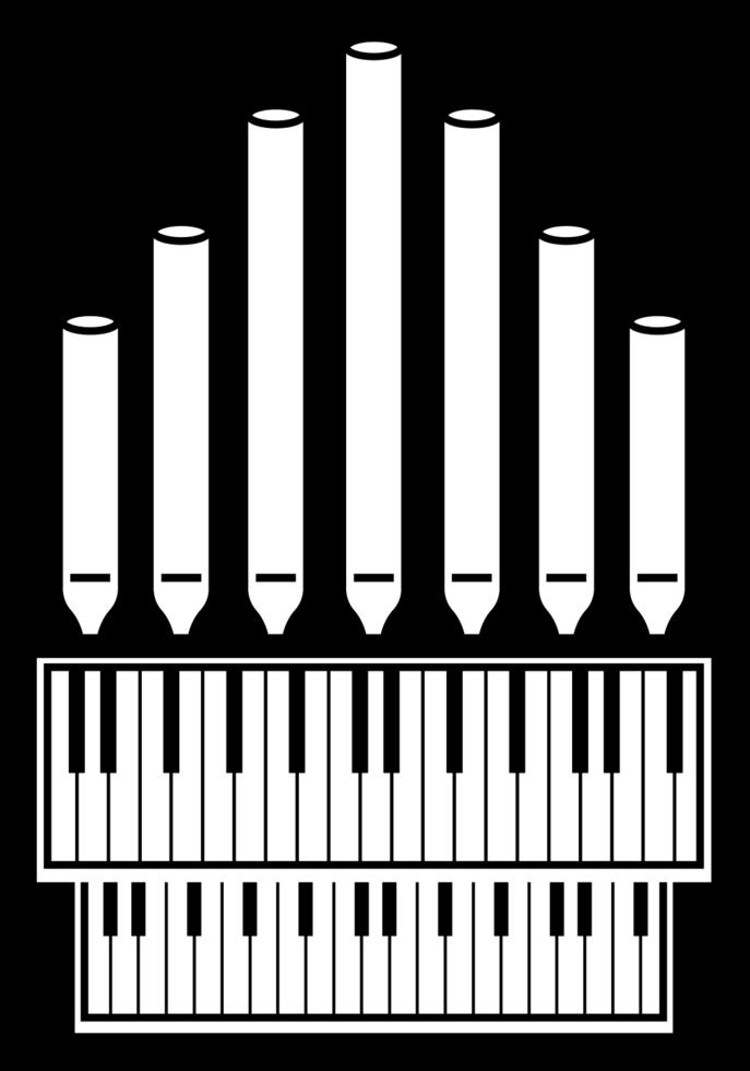 Musikinstrument Kirchenklavier png