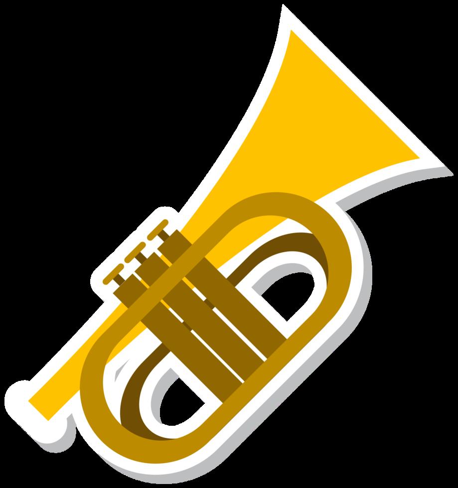 Musikinstrument Trumphet png