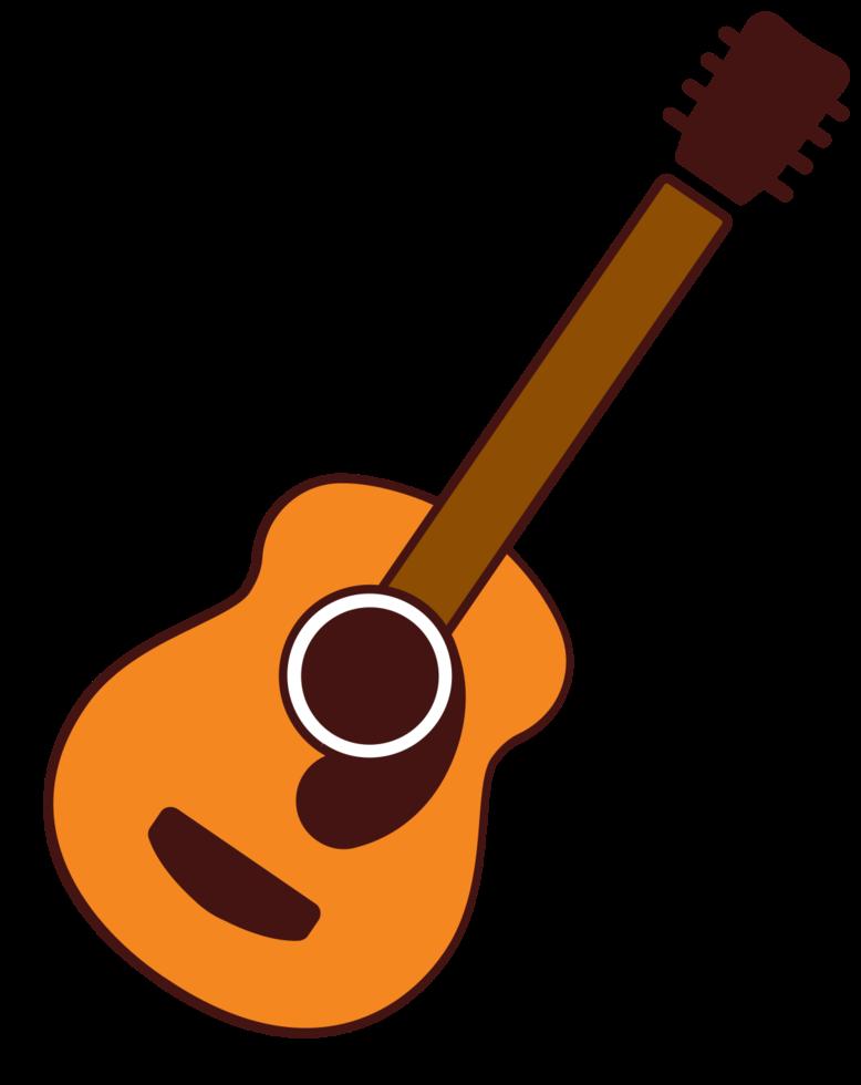 snaarinstrument gitaar png